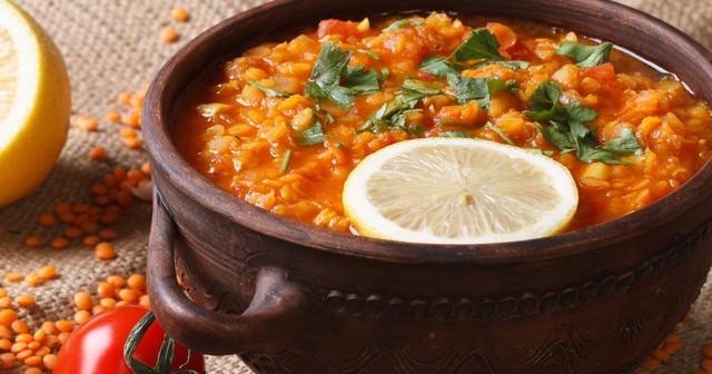 Турецкий суп с помидорами