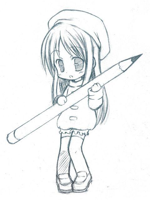 пример срисовки
