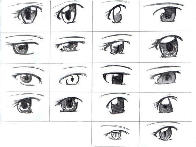 Варианты глаз