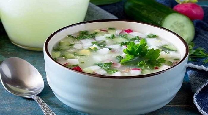 Классические рецепты окрошки на сыворотке — приготовление очень вкусного холодного супа