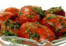 Как приготовить вкусные помидоры, малосольные с чесноком и укропом в домашних условиях