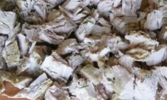 нарезать курицу