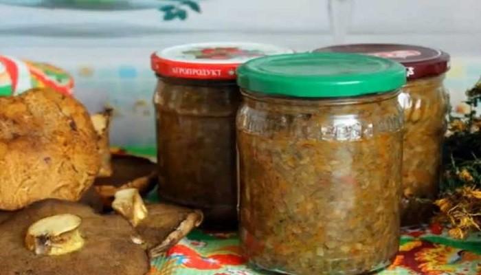Как приготовить икру из вареных грибов на зиму с овощами в мультиварке