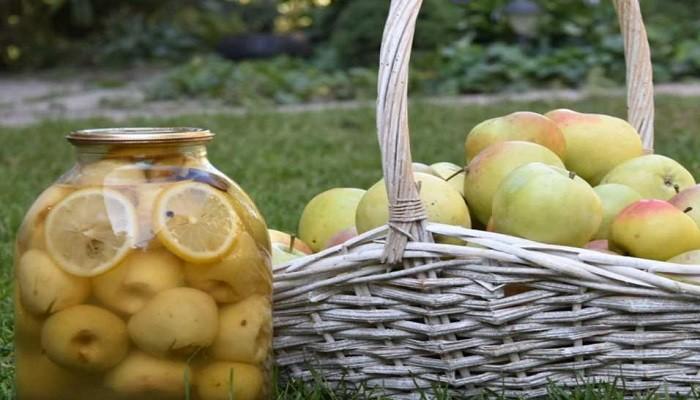 Как приготовить компот из яблок на зиму без стерилизации