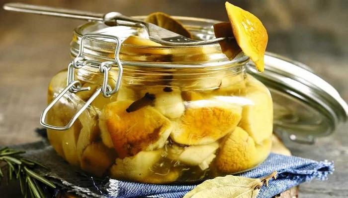 Маринованные белые грибы на зиму рецепт