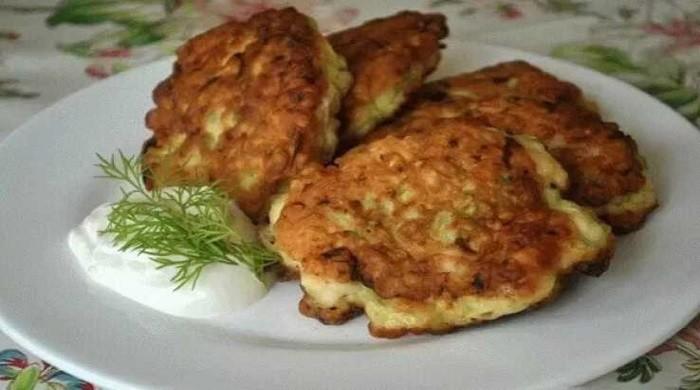 Оладьи из кабачков с мясным фаршем — самые вкусные рецепты пышных оладий