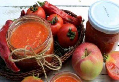 Острая аджика на зиму с яблоками — лучшие рецепты вкусной аджики с перцем