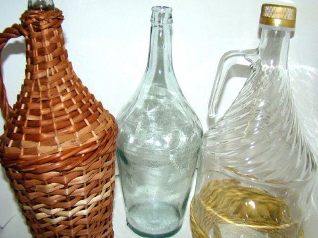 фигурные бутылки для вина