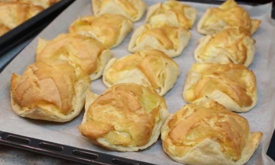 готовые испечённые пирожные
