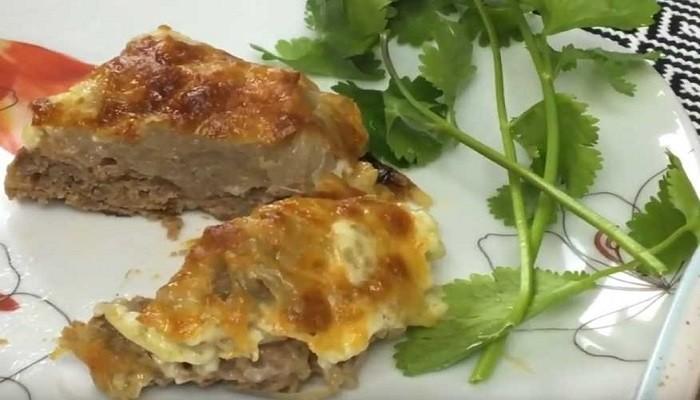 Пошаговый рецепт картошки с фаршем в духовке, с майонезом и сыром