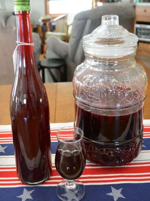 настойка в бутылке