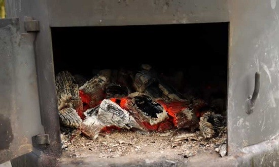жарим на углях