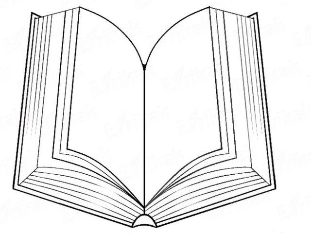 рисунок книги