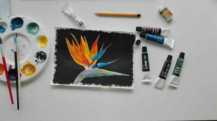 risuem-kraskami Рисунки красками для начинающих: различные техники ( 38 фото)