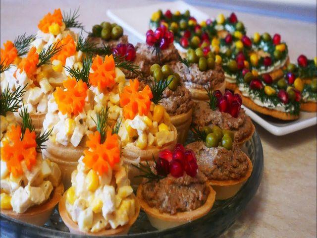 закуски для праздничного стола