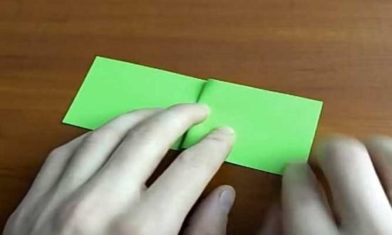 складываем лист попоплам