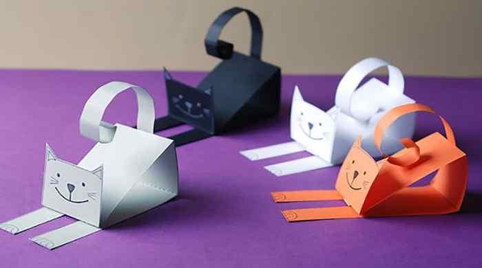 Поделки из бумаги своими руками для детей — самое интересное и легкое