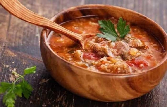 Суп харчо с бараниной и картошкой