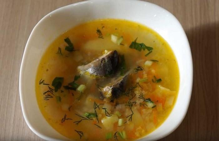Сайровый суп приготовленный в мультиварке