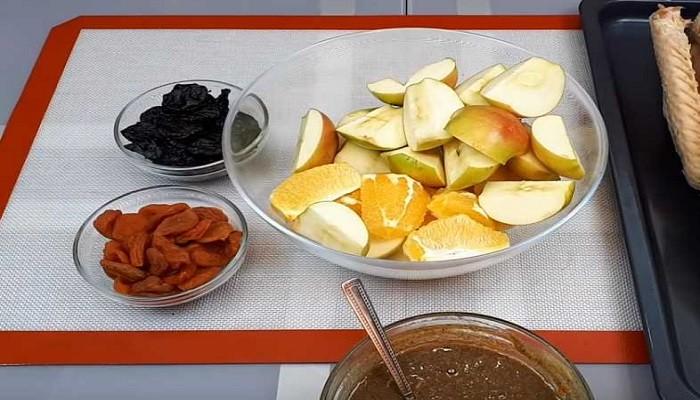подготовленные фрукты