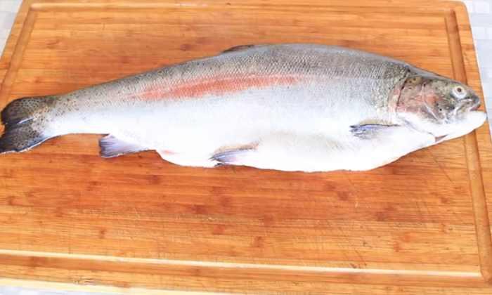 лосось разделанная