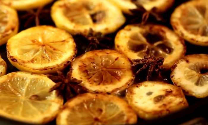 обжаренные лимоны
