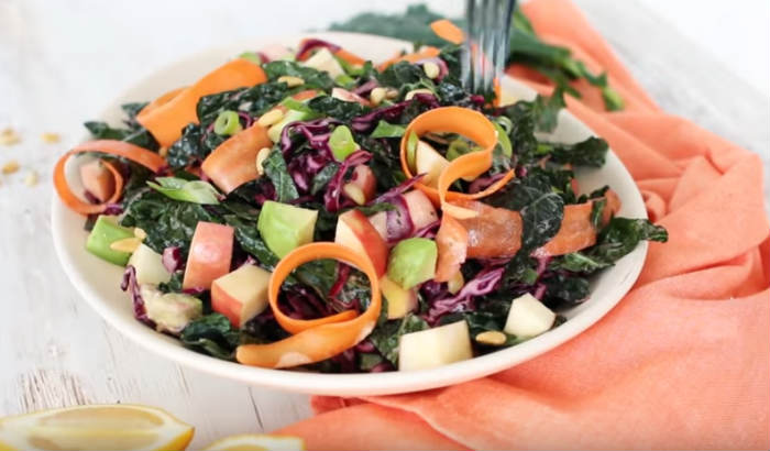 Овощной салат из капусты